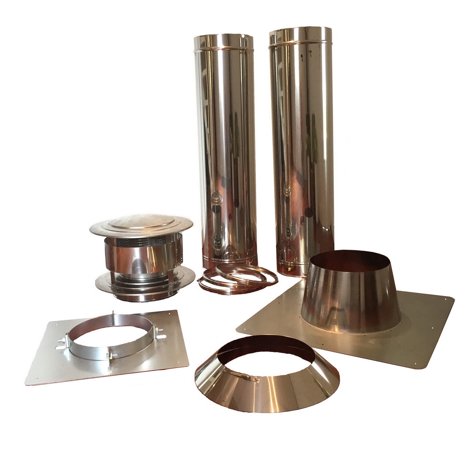 Double Wall Chimney set 200mm